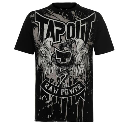 TapouT MARTIAL LAW T shirt NEW Skull Snake RAW POWER Small Medium Large UFC Tee