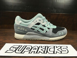 d99ab6acd5 Details about Asics GEL-LYTE 3 III (Black / Blue Surf) [H820L-9046] Running  Mens 7.5-13