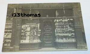 COVENTRY-SHOP-FRONT-R-DAVIES-JEWELLERS-WATCHMAKER-c-1910-REAL-PHOTO-PC-1252