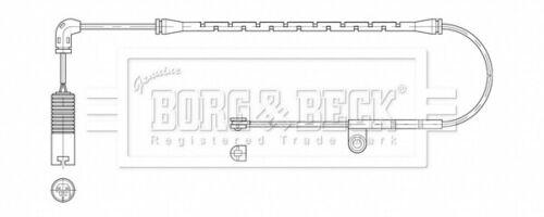 Brake Pad Wear Indicator Sensor fits BMW Z4 E86 3.0 Front 06 to 08 N52B30A B/&B