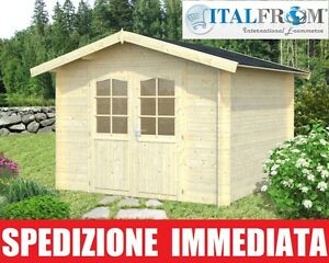 Casetta di legno box casette da giardino in legno d 39 abete for Casette in legno usate ebay