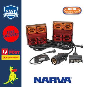 Narva LED Tail Lights Plug & Play for Box Trailers & Tradesman Trailer 93540BL2