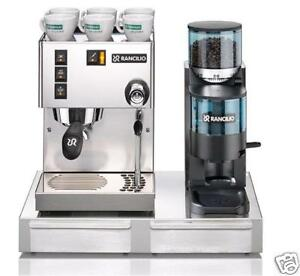 Rancilio-Silvia-V5-Machine-Rocky-Doser-Grinder-amp-Base-Sold-by-Coffee-A-Roma