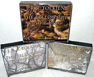 The-Fellowship-of-The-Ring-3-Vol-Set-Audio-CD-Book-J-R-R-Tolkien-Harper