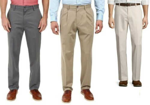 Dockers Mens Classic Fit Best Pressed Stretch Pants size 32 33 34 38 40 NEW