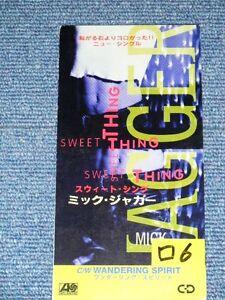Mick Jagger Rolling Stones Japan 1993 Tall 3 Quot Cd Single