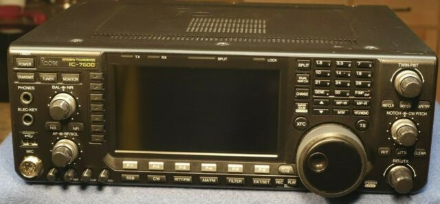 Icom Ic 7600 Hf 6m Transceiver For Sale Online Ebay