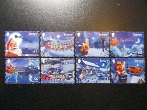 GB-Jersey-2016-Commemorative-Stamps-Christmas-Very-Fine-Used-Set-UK-Seller