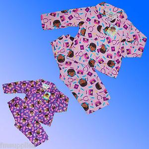 Les-filles-officielle-Doc-McStuffins-flanelle-Winceyette-pyjamas-age-2-3-4-ans