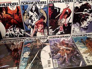 NORTHLANDERS-1-8-2-3-4-5-6-7-1st-Print-Vertigo-Comics-Lot-Brian-Wood-2008-VF-NM