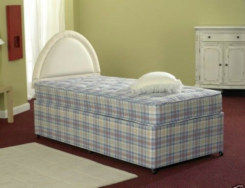 Athens Divan Bed Set with Mattress UK Made Available in 2FT6, 3FT
