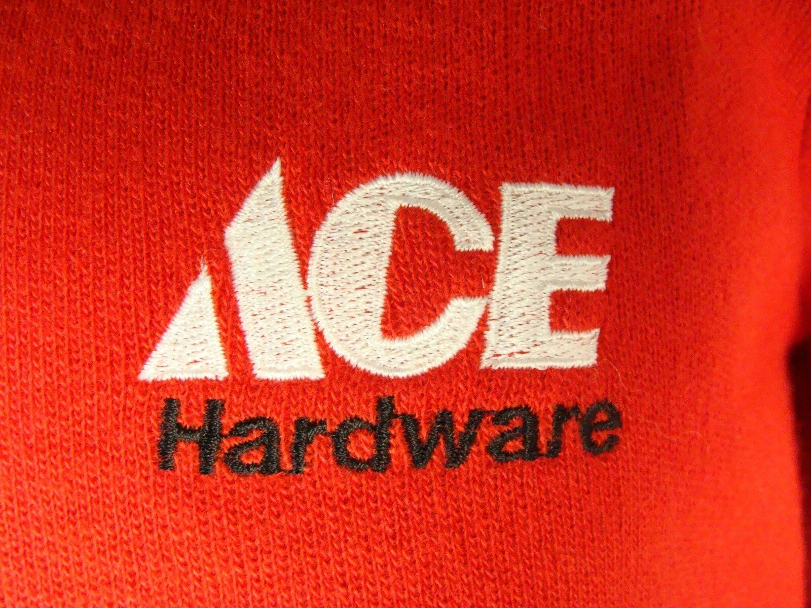 Vintage ACE Hardware 1970s Sweater Small