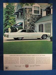 Vintage-Publicite-de-magazine-Imprime-Publicite-Cadillac-Eldorado