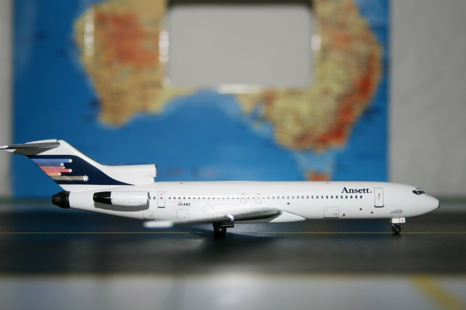 calidad auténtica Aeroclassics 1 400 Ansett Boeing 727-200 VH-Ane (acvhane) Fundición Fundición Fundición Modelo de Avión  almacén al por mayor