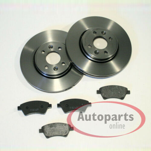 Bremsscheiben Bremsen Bremsbeläge für vorne die Vorderachse Mercedes Citan