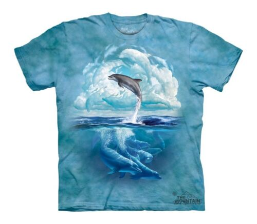 Dolphin Sky Youth Kids Child Authentic The Mountain T-Shirt