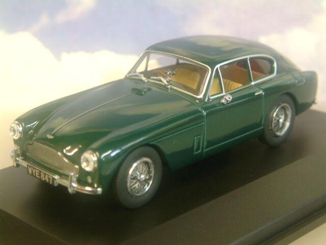 Oxford Diecast 1/43 1957-59 Aston Martin Db2 Mkiii Saloon Carreras Verde