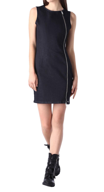 Diesel D-Ozee-T Abito Damen Kleid Jeanskleid