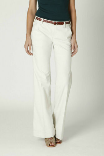 Paperboy by G1 Moleskin Trousers Chinos Pants Size 8 White NW ANTHROPOLOGIE Tag