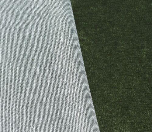 ma20t Deep Green Velvet Style 3D Box Thick Sofa Seat Cushion Cover*Custom Size*