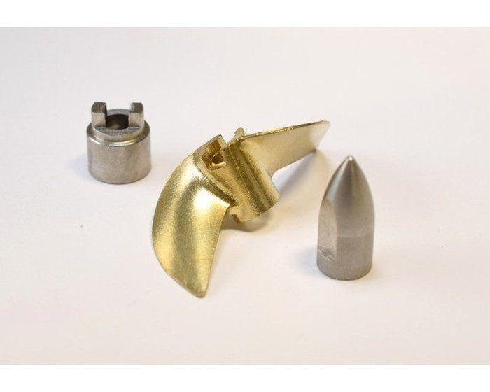 Hot Racing HR-SPN1000E Brass Prop Set W- W- W- Bullet Nut und Drive Dog - Tra M41 und  | Mittlere Kosten  51650a