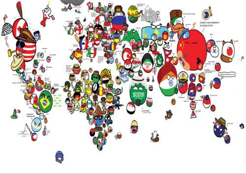 1 FREE//1 GRATUIT POSTER A4 PLASTIFIE-LAMINATED WORLD MAP.N°3. * CARTE DU MONDE