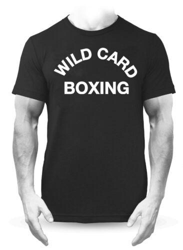 Wild Card Boxing Premium Black T-Shirt