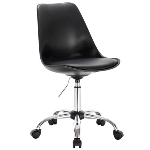 1x Arbeitshocker Bürohocker Drehhocker Schreibtischstuhl Kunstleder #1303