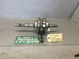 Crankshaft # 13000-958-681 Honda 1984 TRX 200 ATV