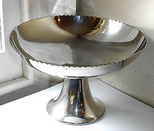 VINTAGE MAPPIN & WEBB SILVER PLATED COMPORT BOWL c.1930