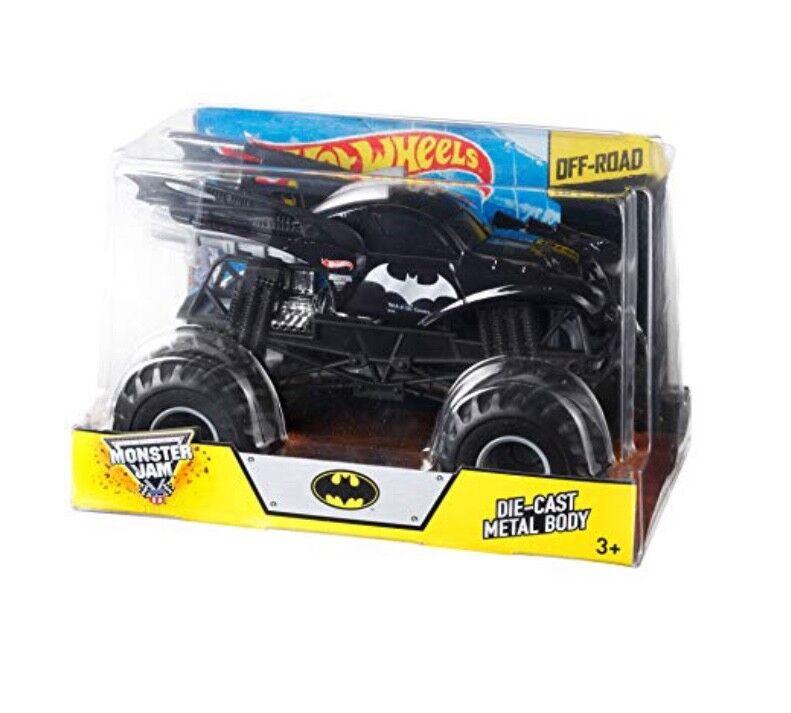 Nouveau Hot Wheels Confiture de Monstre 1 24 Batman Moulage sous Pression