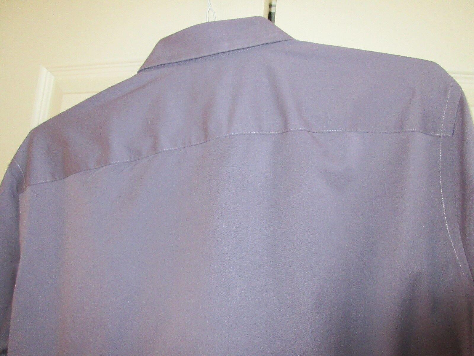 Calibrate , Men's Shirt , Long Sleeve , XL , Trim Fit ,