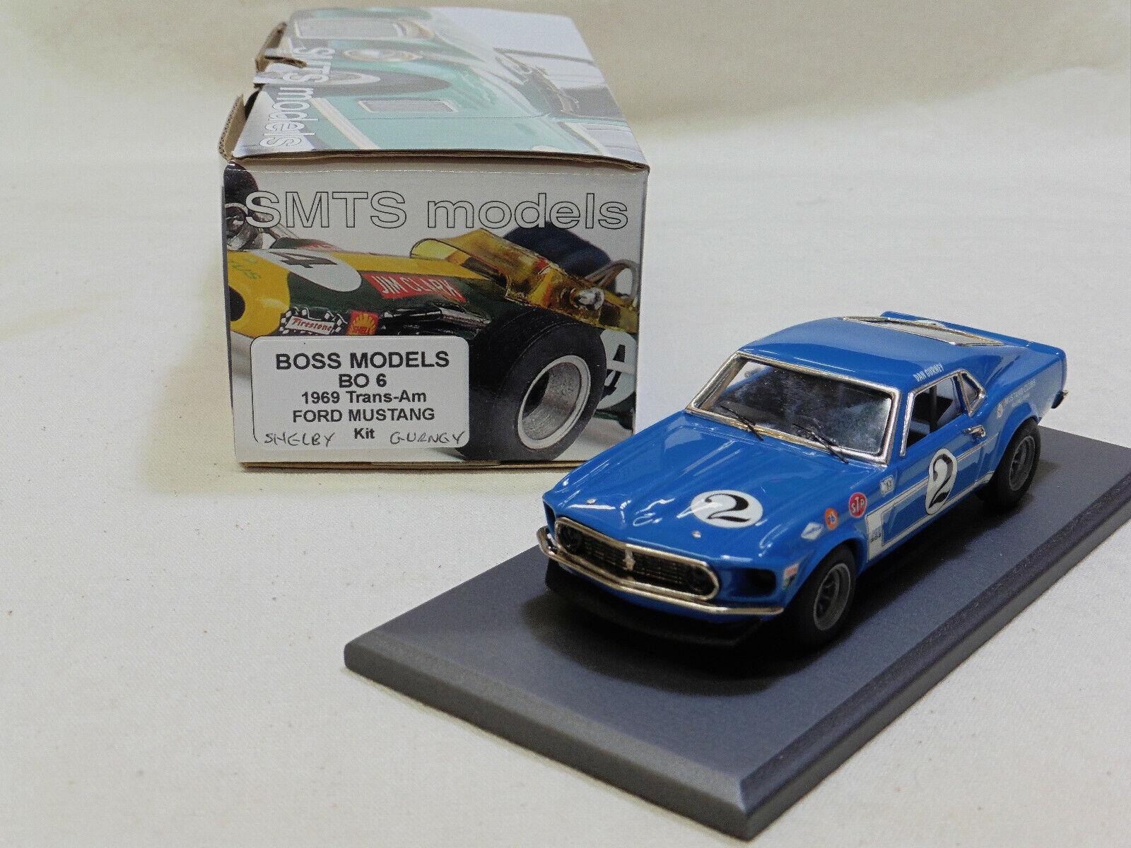 1 43 BO6B 1969 jefe 302 Transam Mustang Dan Gurney por SMTS