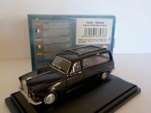 Daimler-DS420-Hearse-Negro-Oxford-Diecast-Escala-1-76-nuevo-Dublo-Ferrocarril