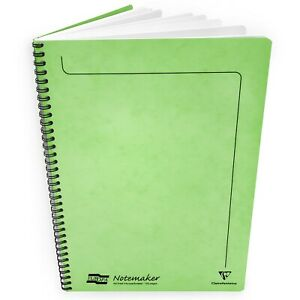 Clairefontaine Europa Notemaker Wiro Notebook - A4 - 90gsm - 120 Pages - Citron