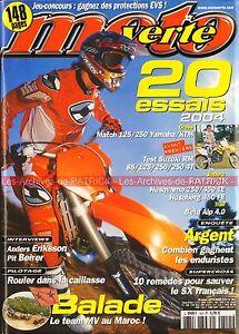MOTO-VERTE-353-KTM-125-250-SX-EXC-YAMAHA-YZ-SUZUKI-85-RM-HUSQVARNA-450-TE-2003