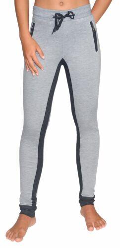 Damen Sporthose Leggings Jogging//Laufhose Fitness Yoga Trainingshose Grau S XL