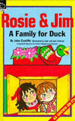 """""""AS NEW"""" Cunliffe, John, Rosie and Jim: A Family for Duck (Rosie & Jim), Book"""
