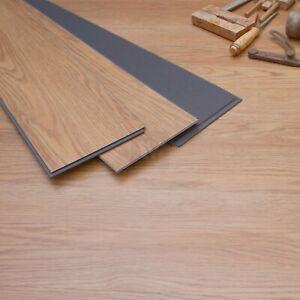 "7"" Classic English Oak LVT Flooring with Underlay, Waterproof | WPC Tiles LP55"