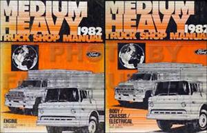 1982 ford truck shop manual set f600 f700 f7000 f800 f8000 c600 rh ebay com Ford F800 Wiring-Diagram Ford F800 Wiring-Diagram