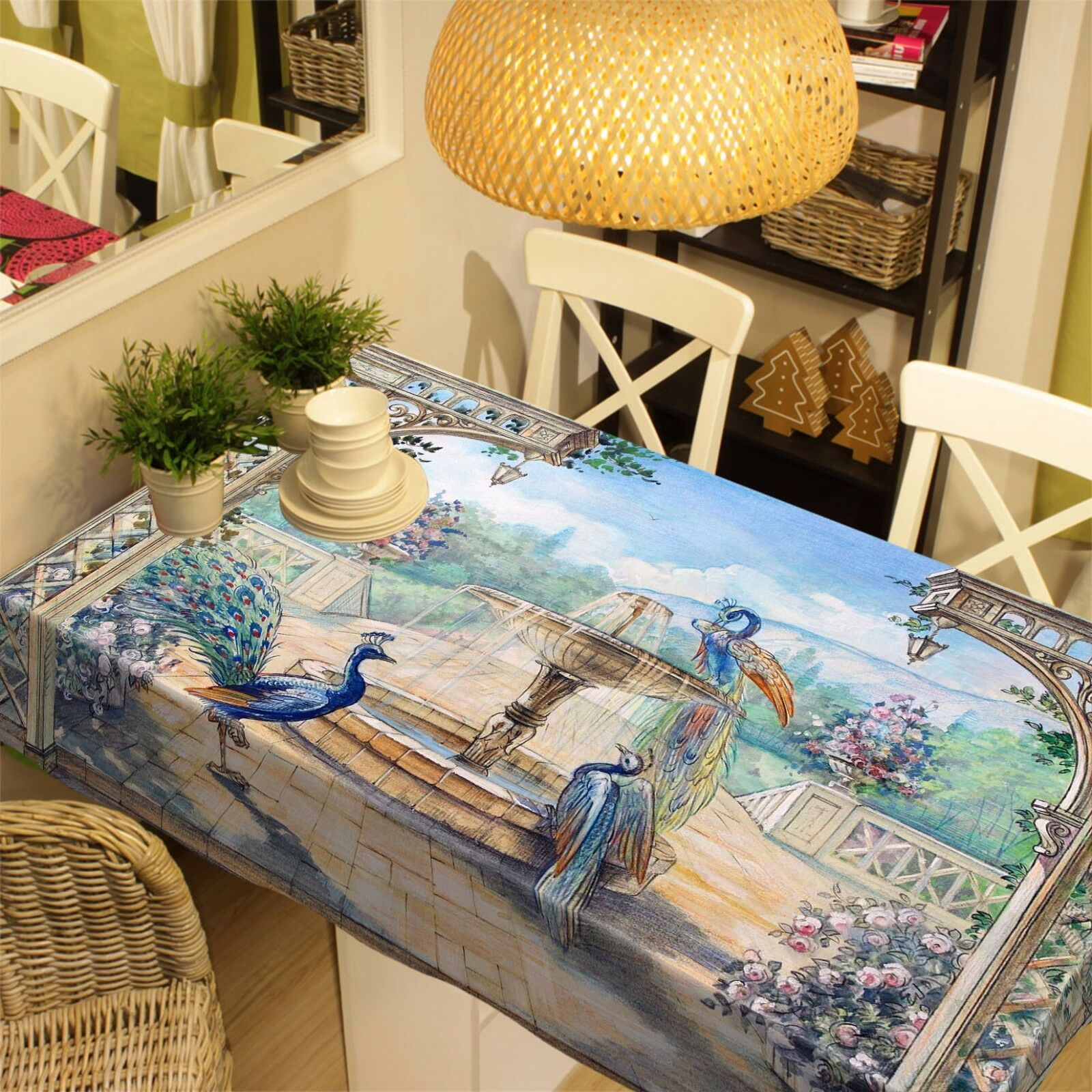 3D Park pool78 Tablecloth Table Cover Cover Cover Cloth Birthday Party Event AJ WALLPAPER UK 48592b