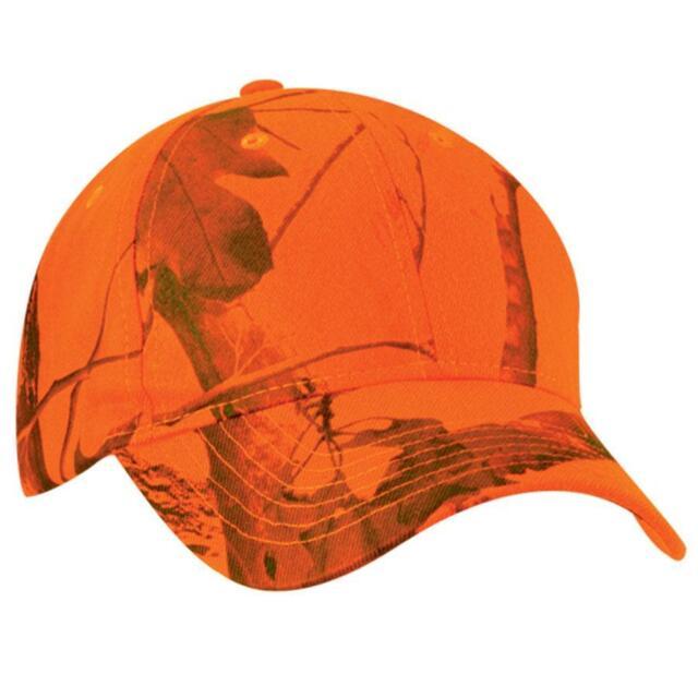 Kati Hunter Safety Blaze Orange   Realtree AP Camo Hunting Baseball Hat Cap  NEW 28fae393fa0