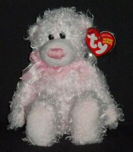 DELIGHTS the BEAR- TY PINKYS BEANIE BABY - MINT with MINT TAG - RED TAG
