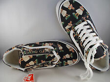 VANS Old Skool Digi Hula Black/Wh Skateboarding Shoes Men's Size 6.5 New In Box