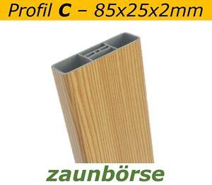 Musterstueck-Zaunlatte-C-85x25x2mm-034-laerche-034-Profiware-Gartenzaun-Staketen