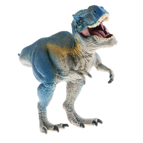 10 Inch Blue T-Rex Dinosaur Figure Toy for Kids Gift Home Décor Collectible