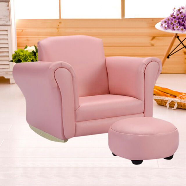 Incredible Kids Sofa Set Childrens Baby Rocking Tub Chair Toddlers Armchair Matching Stool Gmtry Best Dining Table And Chair Ideas Images Gmtryco