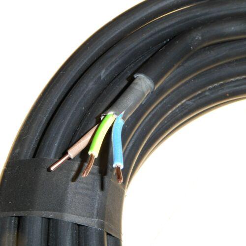 10 Metre x 1.5mm 3 Core NYY-J Hi Tuff Cable Outdoor Underground Heavy Duty Hituf