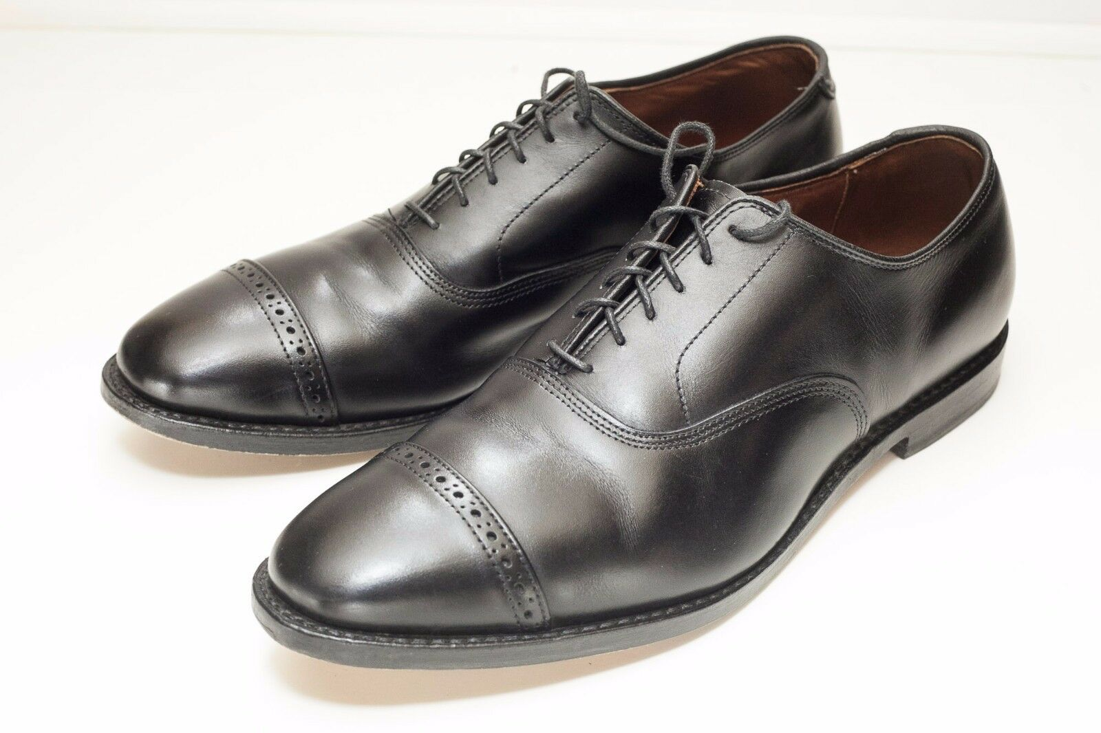 Zapatos De Vestir Allen Edmonds Fifth Avenue 11.5 D Negro Oxford