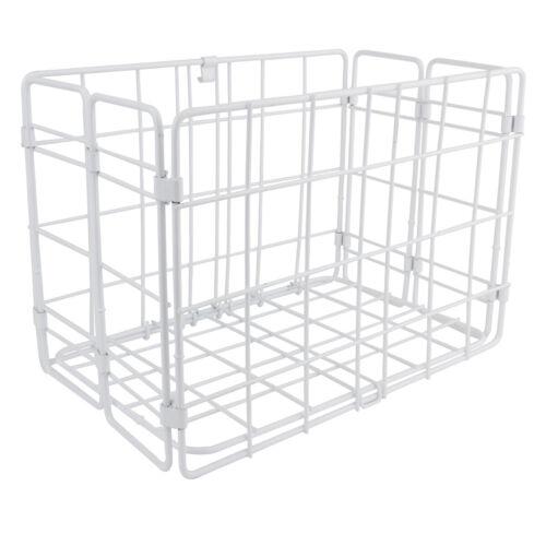 Wald Products Basket 582 Folding Rear 12X7X8 White